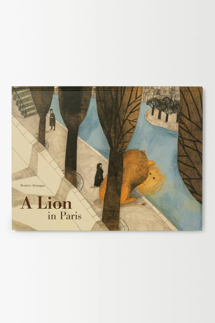 A Lion in Paris - Beatrice Alemagna, I love her wonderful collages