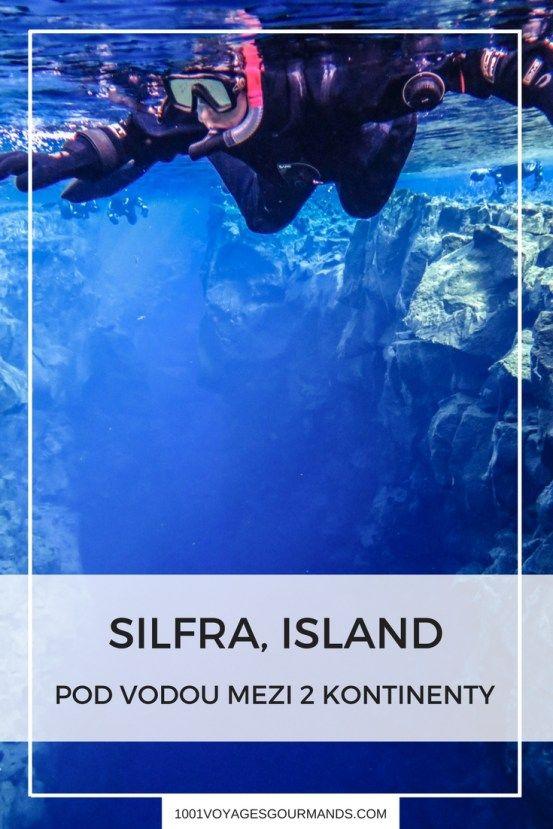 Jak jsme na Islandu zapluli mezi dva kontinenty v Silfra Fissure