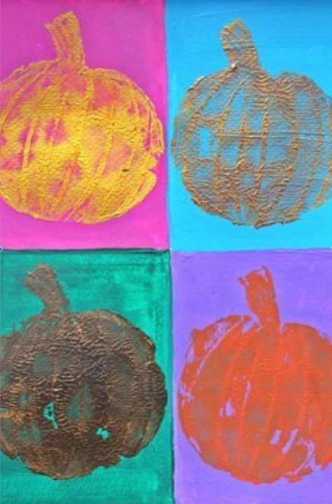 Maker Monday: Pop Art Pumpkins, $15 | Family information for children sports, camps, schools, restaurants, and more in Pinehurst, Southern Pines, Fayetteville, Sanford