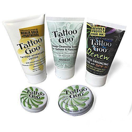 Tattoo Goo Aftercare Kit Version XL New Formula Fast US Shipping New    eBay