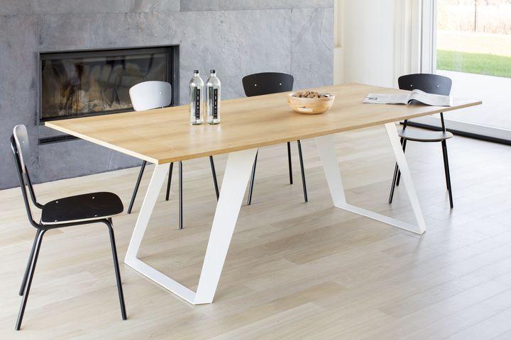 MORGAN il nuovo tavolo di MARA al Salone del Mobile 2014