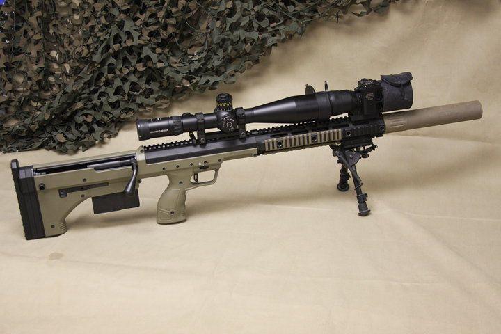 SRS .338 Bullpup rifle