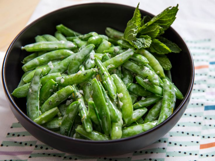 Snap peas are one of my favorite vegetables for eating out of hand ...