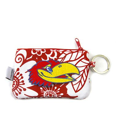 Take a look at this Kansas ID/Coin Purse by Mee Too on #zulily today!
