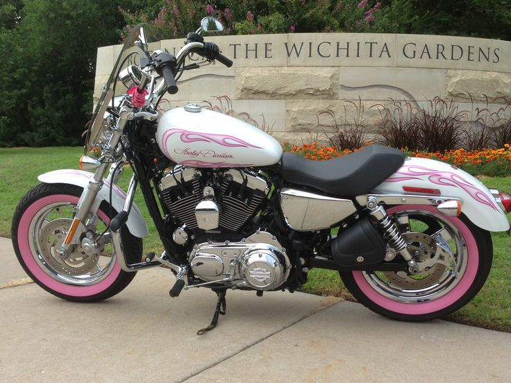 Pink Harley Davidson: 40 Best Images About Pink Bike On Pinterest