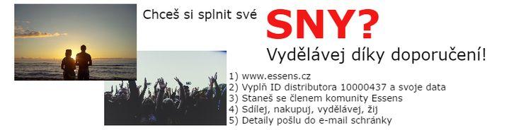Essens registrace on-line a zdarma