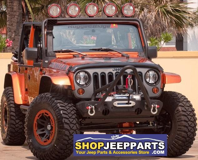 Sharp Looking Jeep Wrangler JK showcasing Rugged Ridge Accessories. http://www.shopjeepparts.com/0712-wrangler-c-880.html