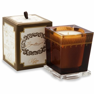 Aquiesse Candle. Aquiesse Souvenir Candle Collection is inspired by perfumed journeys to the world's most majestic bodies of water. Created with a proprietary soy wax blend that provides over 100 hours burn time.  www.drdelphinium.com