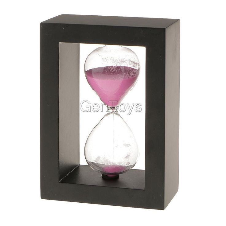 Kitchen Craft Traditional 30 Minutes Wooden Sand Timer Sandglass Hourglass