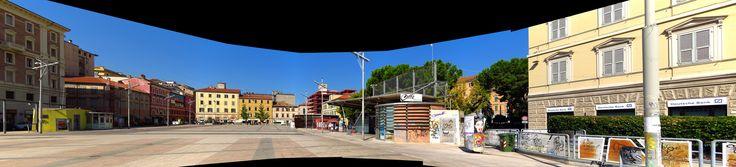Ancona, Marche, Italy - Piazza Pertini -panorama2 by Gianni Del Bufalo CC BY-NC-SA | STA_9231_36 stitch
