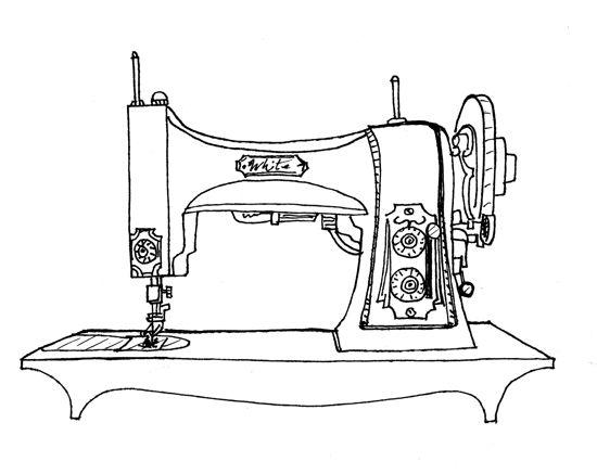 список швейная машина картинки раскраски прислать фото марок