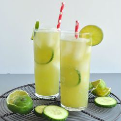 Cucumber Lime Electrolyte Refresher Recipe