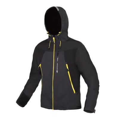 Endura MT500 Waterproof Jacket II. Exceptionally breathable ExoShell60 3-Layer waterproof fabric, fully seam-sealed with  Cordura® shoulders with silicone grip and ergonomically positioned stretch panels. 3D adjustment on hood and you have every bell and whistle to conquer the trail. PinkBike MTB Gear Award 2015.