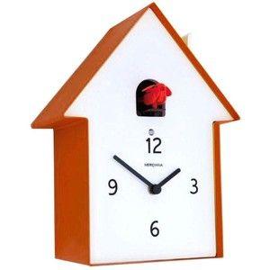 Diamantini & Domeniconi Meridiana Cuckoo Clock Orange