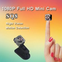 SQ8 Spied Camera Full HD 1080P Micro Camera Infrared Night Vision Motion Sensor Kamera Digital Video Camcorder Mini DV Camera(China (Mainland))