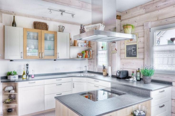 Honka Einfamilienhaus Modell Peak Küche