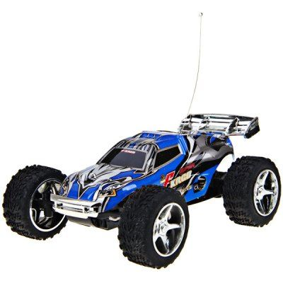 Wholesale NO.2019 Remote Control Racing Car with 5 Speed Transmission and Flashing Light (BLUE) | Everbuying