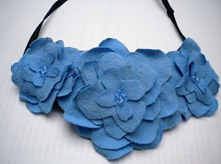 Ugly T-Shirt Flower Headband Tutorial
