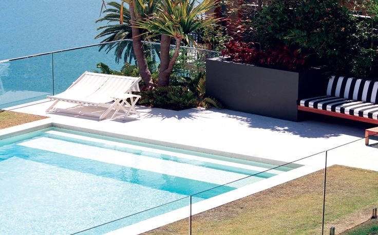 Protecting your natural stone around your Saltwater Pool this week on the BLOG - Sareen Stone www.sareenstone.com.au/blog