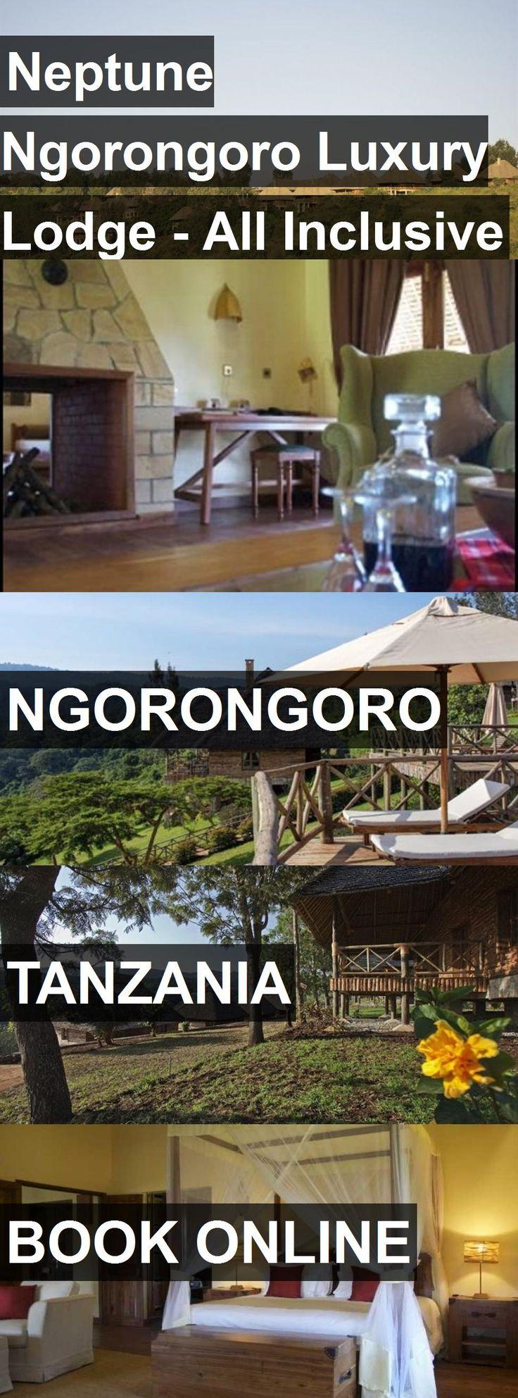 Hotel Neptune Ngorongoro Luxury Lodge - All Inclusive in Ngorongoro, Tanzania. For more information, photos, reviews and best prices please follow the link. #Tanzania #Ngorongoro #travel #vacation #hotel