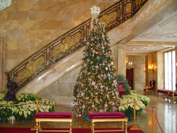 42 Best Marble House Images On Pinterest Gilded Age Newport  - Christmas Trees Ri