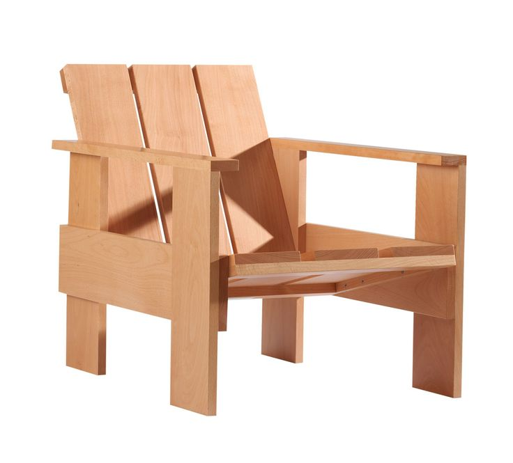 Cute Gerrit Thomas Rietveld Crate Chair Rietveld us first piece of crate furniture dates back to The indoor crate chair is the low version of the chair and is