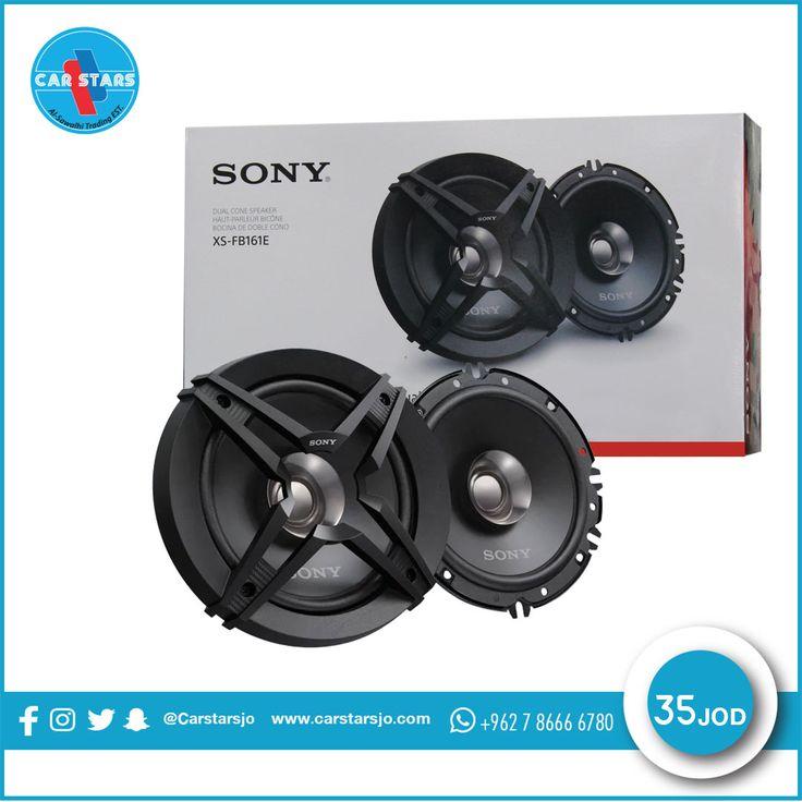 سماعات سوني الأصلية Sony Xs Fb161e سماعات دائرية السعر 35 دينار 16cm 260w 45w Rms Rubber Surround لل Graphic Card Electronic Components Electronic Products