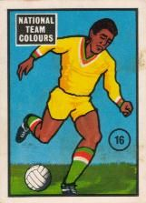 National team colours in 1969 - Ghana 🇬🇭