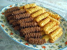 Turkish Kurabiye (Caterpillar) Cookies