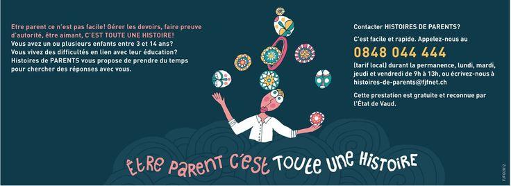 Histoires de parents dispositif de soutien à la parentalité dans le canton de Vaud