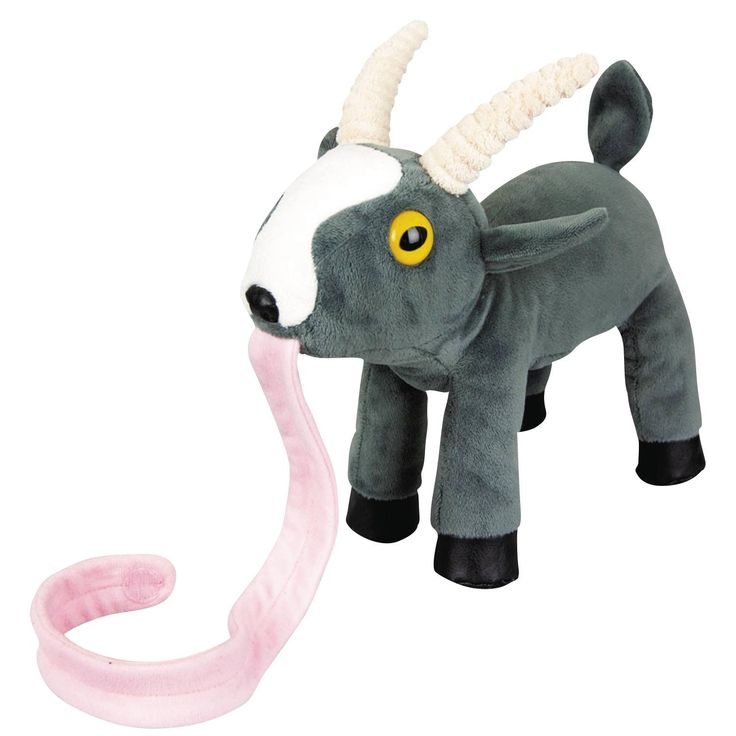 Have you ever dreamed of what it would be like to have your own goat? Well dream no more! From the hit video game Goat Simulator comes this adorable Mini Goat Magnet Plush. It will melt your heart wit