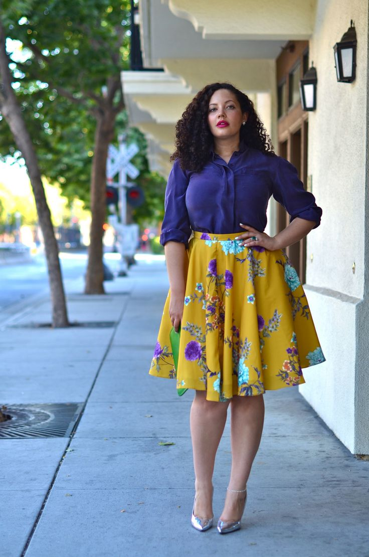 Fashion styles for big ladies dresses