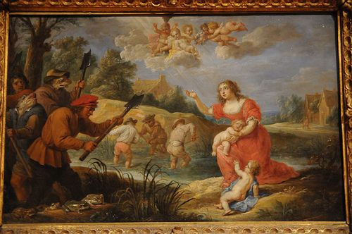 Latona and the Frogs - David Teniers the Younger