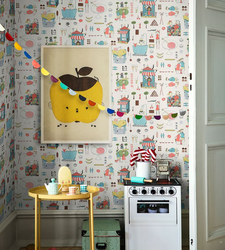How To Style Boys Rooms | Krakel Spektakel Wallpaper by Borastapeter | Jane Clayton