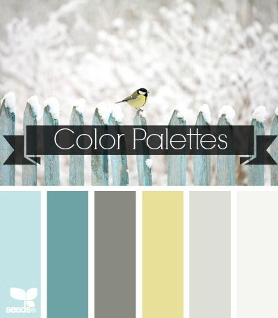 Color Palette Cover Photo - Hard to tell if I like the colors, or if I just think the bird is cute. Win win?