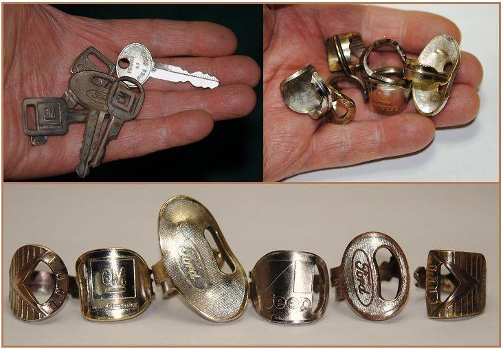 Coinrings, Spoonrings, Cartridge Rings, Lure Rings, Shotgun Shell Rings....