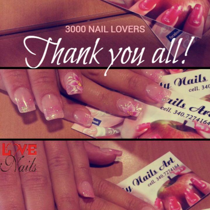 Siamo in 3000 su #Facebook, tantissime e tutte amanti delle #unghie e della #nailart! #LOVENails ringrazia di vero cuore ognuna di voi ♥  www.rdcosmetic.com