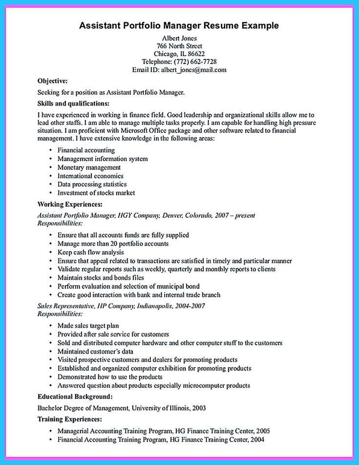retail assistant manager resumes