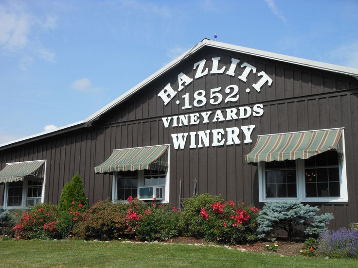 Great winery on the Seneca wine trail.......great red cat wine and white stag July 3 2013