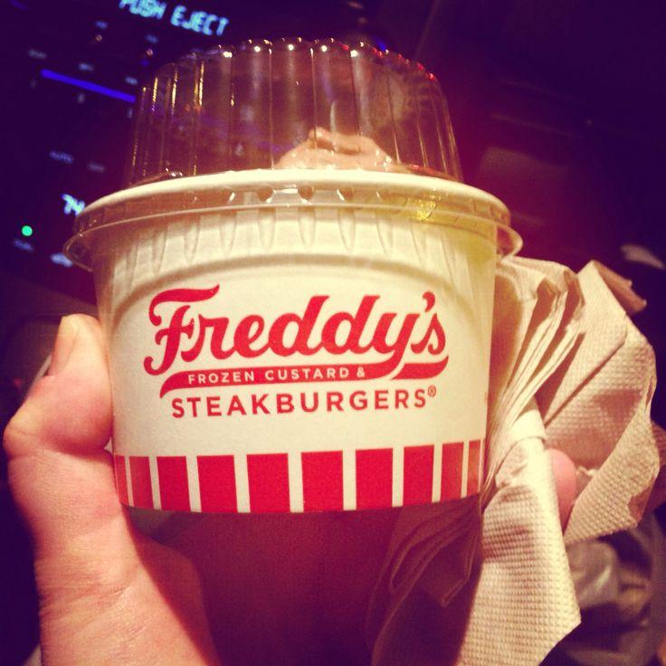 Freddy's frozen custard is the best!