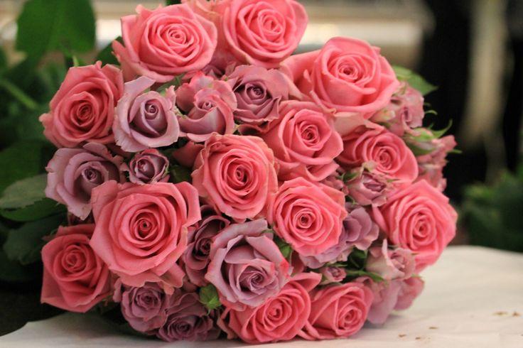 #Rosa #Lila #briudbukett