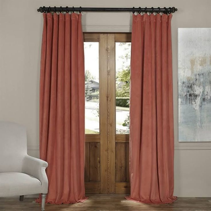 Best 25 Coral Curtains Ideas On Pinterest Pink Office