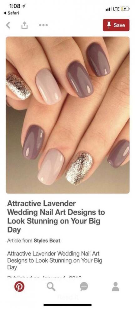 61 ideas for nails colors ideas gelish #Hair #Hair…