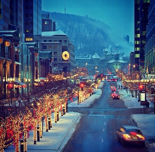 Montreal -- winter