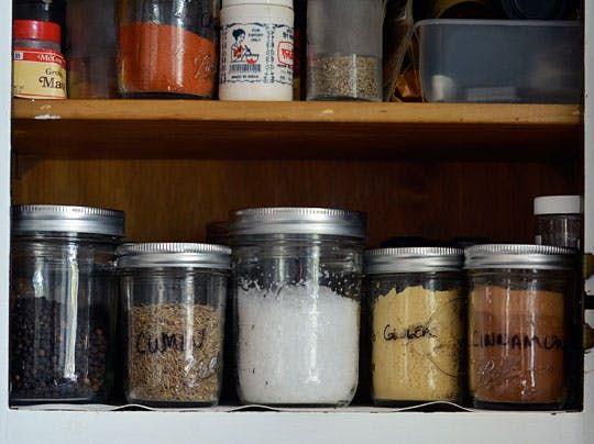 Best Spice Storage Solution: Mason Jars