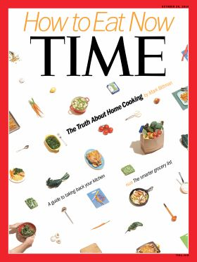 How to Eat Now Home Cooking Mark Bittman Time Magazine Cover
