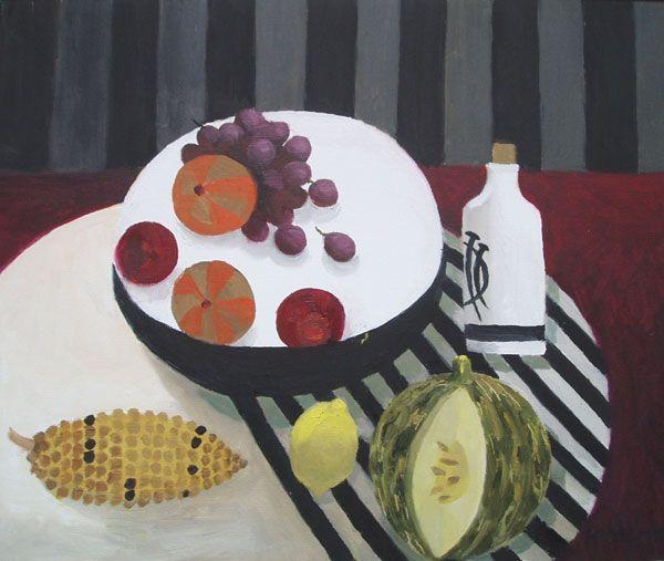 Mary Fedden RA (b. 1915) 'Bowl of Fruit', 2008,