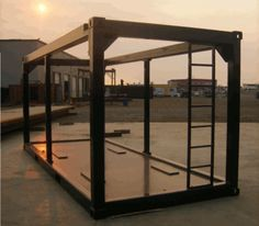 ISO Open Frame Equipment Container