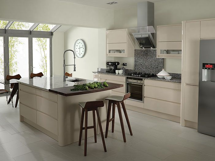 interior-kitchen-furniture-modern-kitchen -design-ideas-for-small-space-with-attractive-cream-scheme-interior-furniture-and-fascinating- kitchens-island- ...