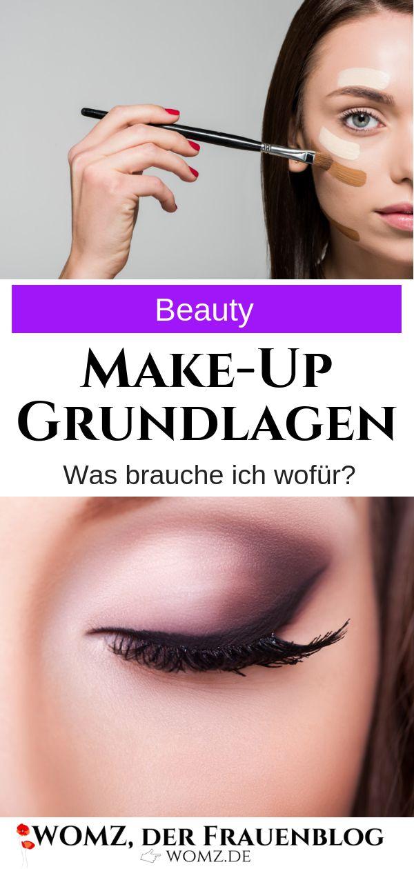 Makeup Basics: Warum brauche ich Foundation, Bronzer, Primer & Co? Der Beauty-Guide verrät es   – WOMZ – Der Frauenblog